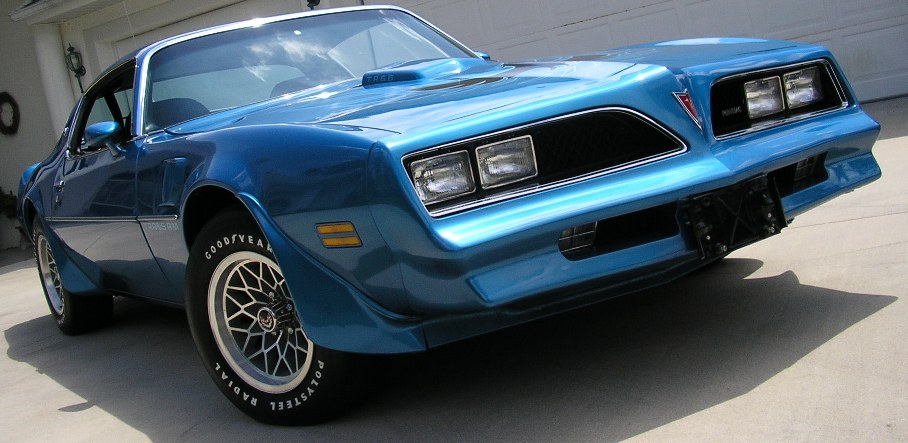 The 1978 Trans Am Special Performance Package
