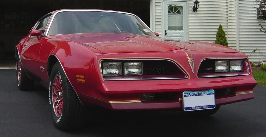 Hitman S Pontiac Trans Am Site Redbird Edition