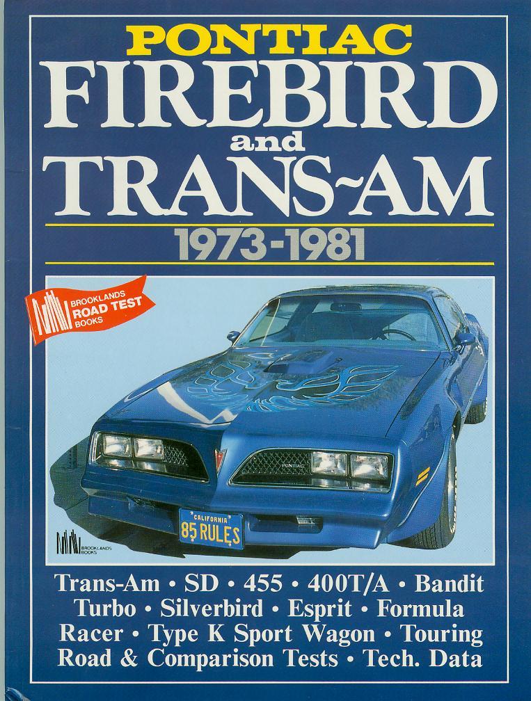 Hitman's Pontiac Trans Am Site - Original Information