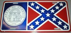 Bandit Trans Am Georgia Plate 1977-81