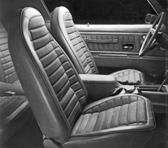 1972 Trans Am Seat Covers Deluxe Vinyl