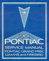 1981 Pontiac Service Manual