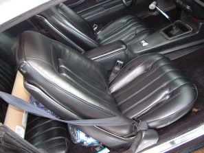 1976 - 1977 Trans Am Seat Covers Deluxe Vinyl
