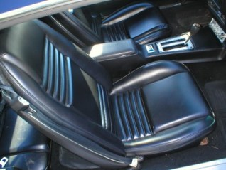 1978 - 1981 Trans Am Seat Covers Deluxe Vinyl