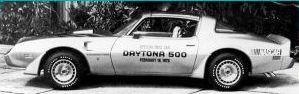 1979 Y89 10th Anniversary Daytona 500 Turbo Pace Car Door Decals