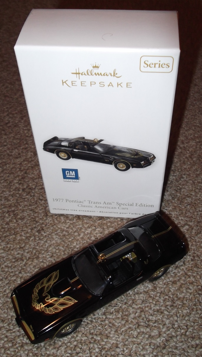 2012 Hallmark Keepsake 1977 Special Edition Trans Am Ornament