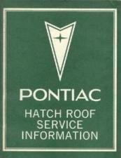 1976-78 Pontiac Trans Am T-Top/Hatch Manual