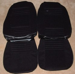 1977 - 1978 Trans Am Lombardy Cloth Seat Covers