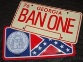 Bandit Trans Am License Plate Set
