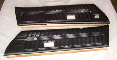 1976 - 1977 Standard Pre-Assembled Door Panels
