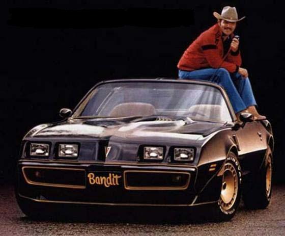 Bandit II Trans Am Plate 1981