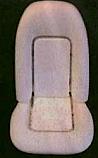 1973 - 1977 Deluxe Seat Foam