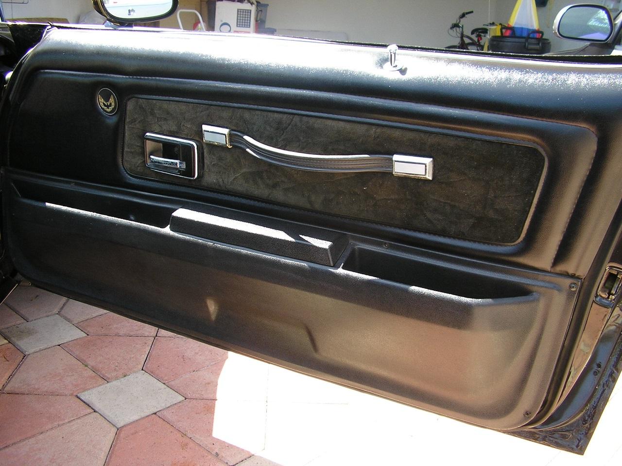 & 1977 Firebird Trans Am Deluxe Door Panels Pre-Assembled