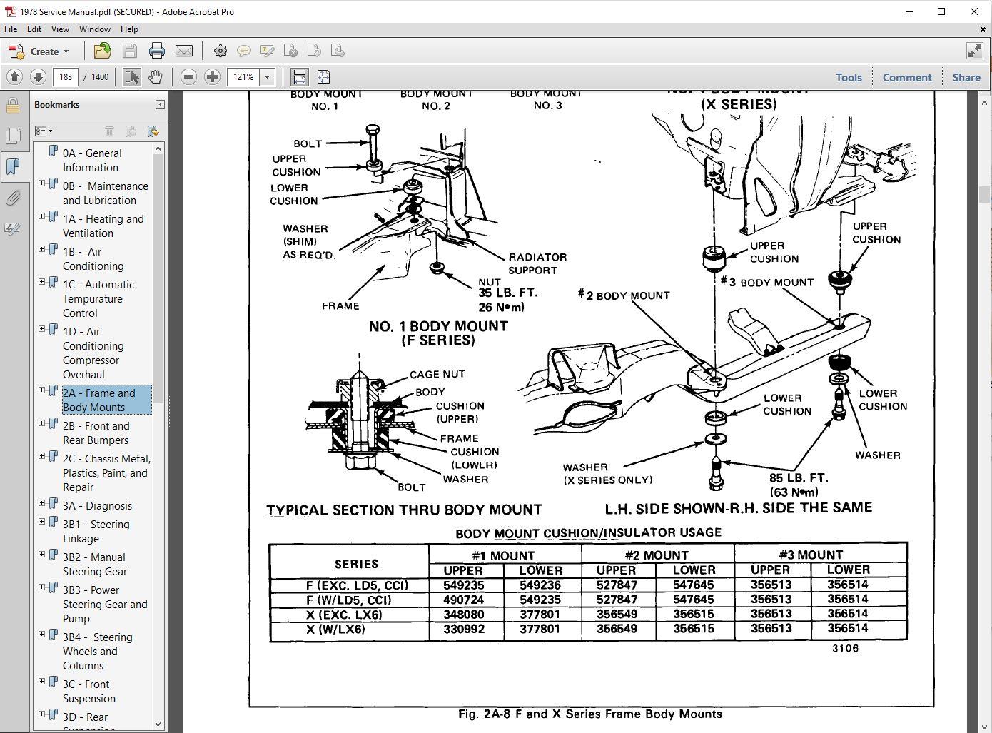 1978 pontiac complete restoration manual