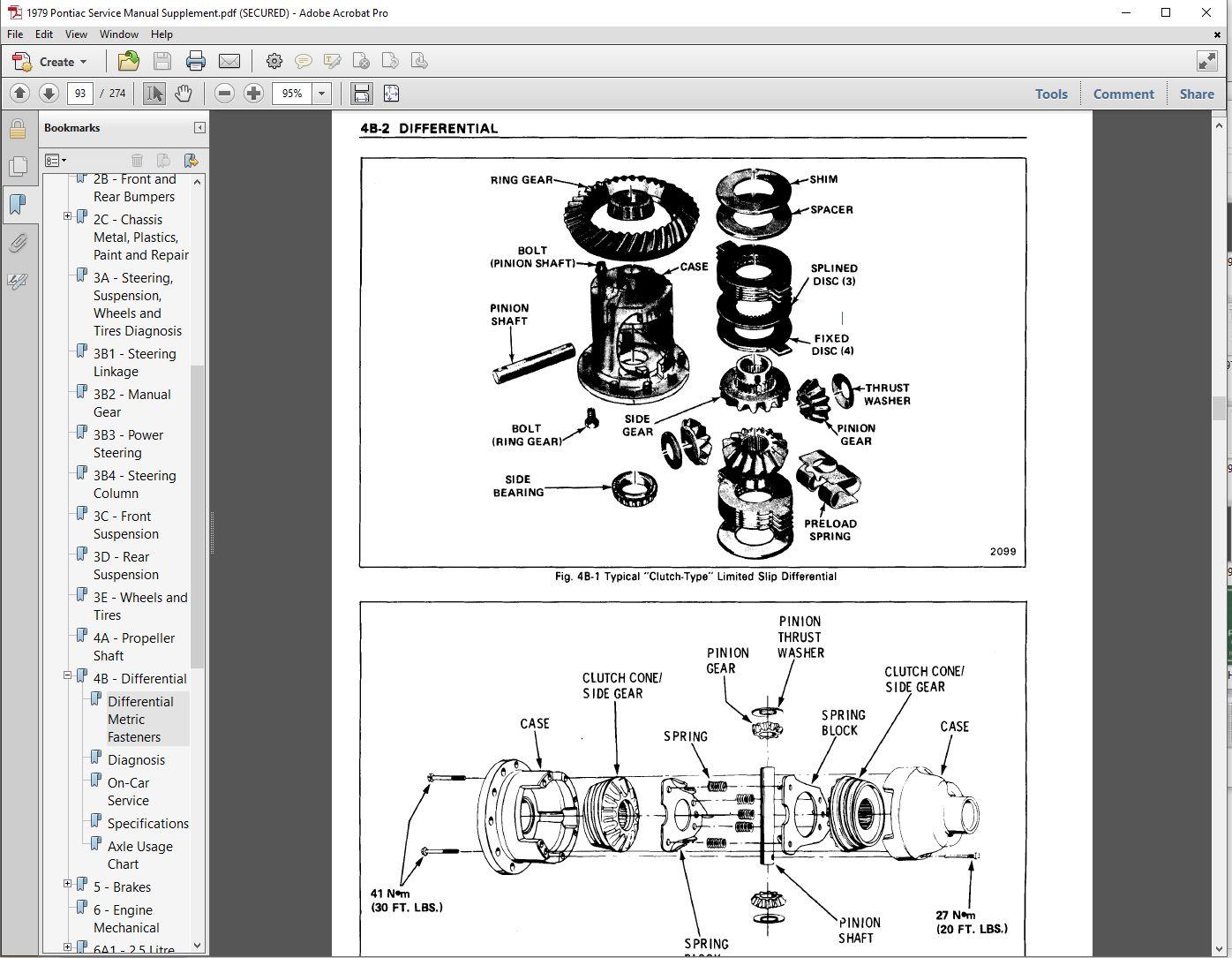 1979 pontiac complete restoration manual