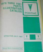 1967 to 1981 Parts and Illustration Catalog