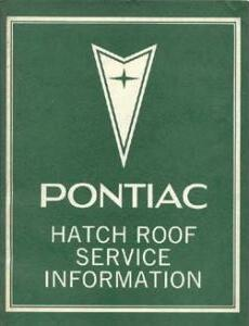 1978 Pontiac Complete Restoration Manual