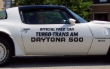 1981 Y85 NASCAR Daytona 500 Turbo Pace Car Door Decals