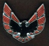 1975-78 Firebird Trans Am Sail Panel Emblems