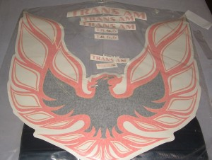 1973-78 Pontiac Trans Am Decal Kit Complete