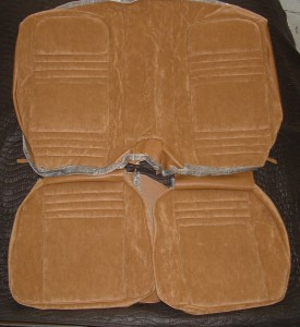 1977 - 1978 Firebird/Trans Am Deluxe Lombardy Cloth Seat Covers
