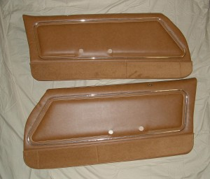1978 - 1981 Firebird Trans Am Deluxe Door Panels Pre-Assembled